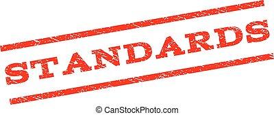 Standards Watermark Stamp