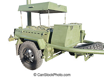 standart russian or soviet army military mobile field kitchen