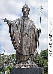 standbeeld, paus