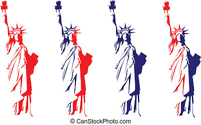standbeeld, vrijheid
