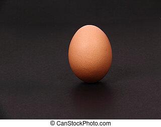 standing alone egg