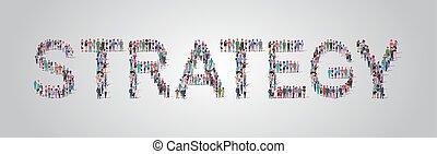 standing, appartamento, assemblea, concetto, parola, folla, persone, personale, differente, insieme, strategia, miscelare, forma, corsa, comunità, gruppo, orizzontale, lavorante, occupazione