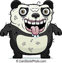 standing, brutto, panda