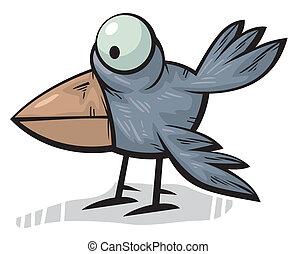 Standing crow