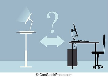 Standing desk question - Standing desk versus traditional ...