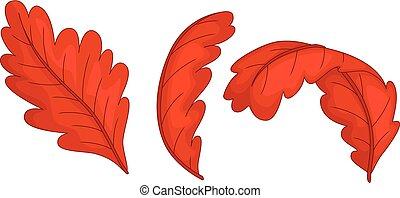 standing, divertente, antico, uccello, ondeggiare, sorridente, cartone animato