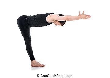Standing Half Forward Bend