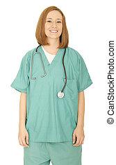 Standing Nurse