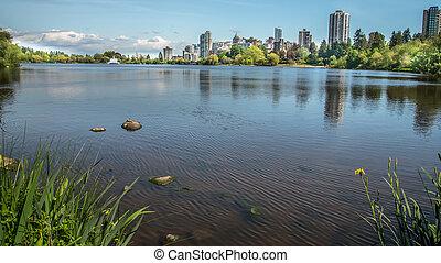 stanley, orizzonte, parco, lago