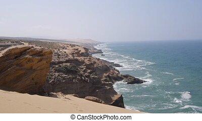 stanning coastline in morocco