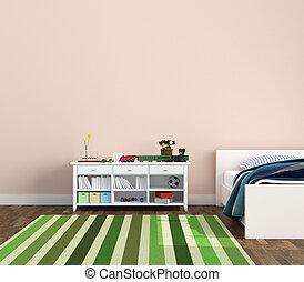 stanza capretti, playroom