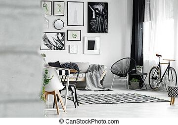stanza, galleria