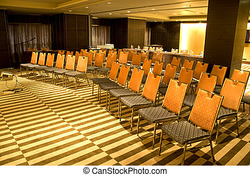 stanza, moderno, seminario