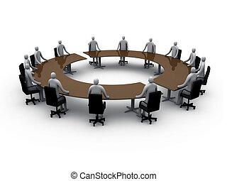 stanza riunione, #5