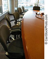 stanza riunione, affari
