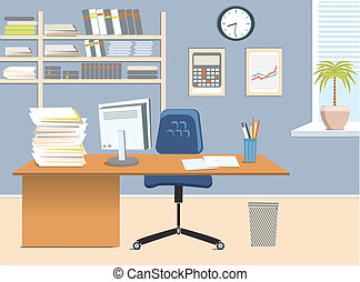 stanza, ufficio