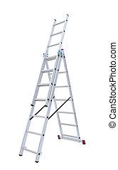 stap-ladder, metaal