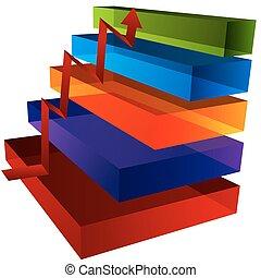 stap, tabel, 3d