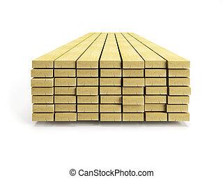 stapel, planken