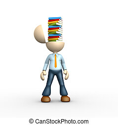 stapel, van, boek