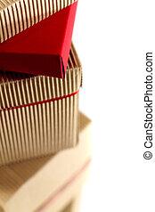 stapel, von, pappkartons
