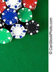 stapel, von, poker- späne