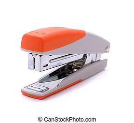 Stapler isolated on a white background