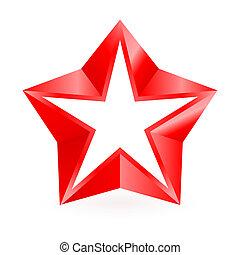 star., 赤