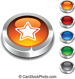 Star 3d button.
