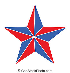 Star - 4th of july Vector