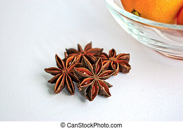 Star Anise and Tangerines