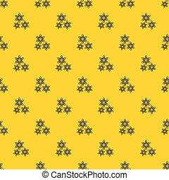 Star anise pattern vector