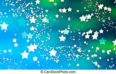 Star background - Magic heavenly background with flying...