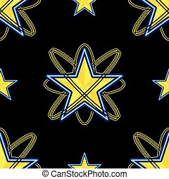 Star Black Background