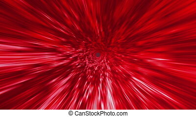 Star Burst Rays Vortex Red BG