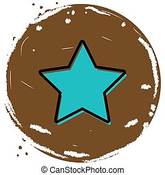 Star button icon