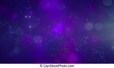Star cluster and plasma in outer space 7