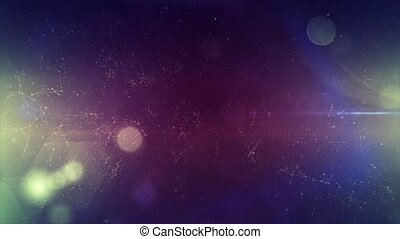 Star cluster and plasma in outer space