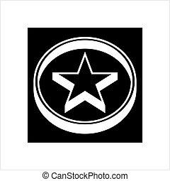 Star Design, Star Shape Vector Art Illustration