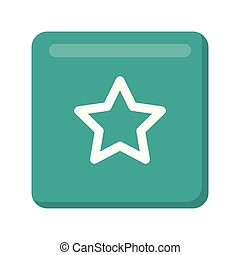 star favorite button