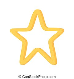 star favourite rating isolated icon