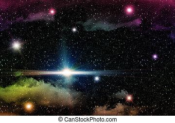 Star Field Background