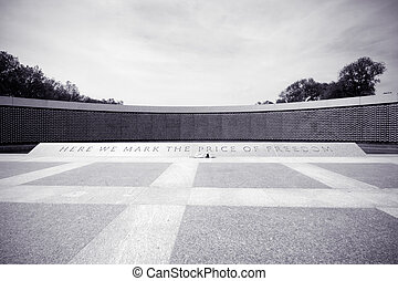Star Field World War II Memorial Washington DC - National...