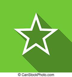 star flat icon