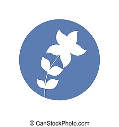 star flower natural icon