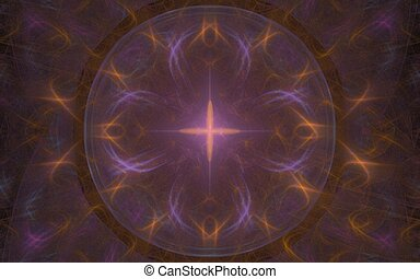 Star flower symbol