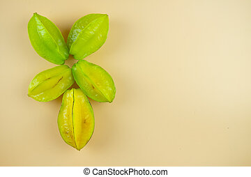 Star fruit. Star fruit is popular in asia, sour and sweet ...