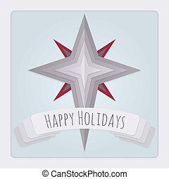 Star Holidays Card