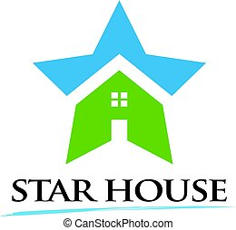 Star House Award Logo Illustration