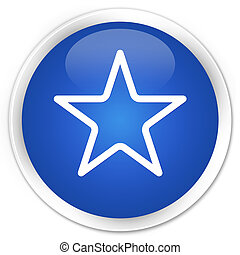 Star icon blue button